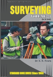 Surveying Volume - 3.   By   Dr. K.r. Arora