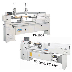 Semi-Automatic Hydraulic Copy Lathe