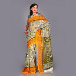 Painted Sarees