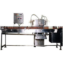Bottle Filling, Capping and Sealing Machine