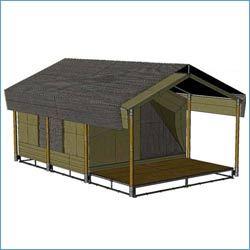 Luxury Wooden Tent Luxury Cottage Inner View Exporter