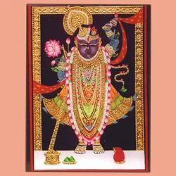 Tanjore Painting - Shri Nath Ji