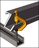 CADDY Multi-Purpose Purlin Clamp - Model 315 (Beam/Purlin)