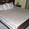 Poly Sheer Embroidery Bed Covers