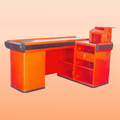 Orange Cash Table
