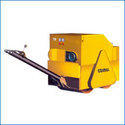 Double Drum Walk Behind Vibratory Road Rollers