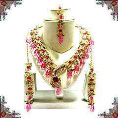 Indian Kundan Necklace Set