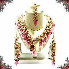 Indian Kundan Necklace Set