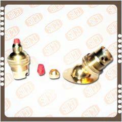 Brass Cord Grip & Angular Base Lamp Holders ( B-22 )
