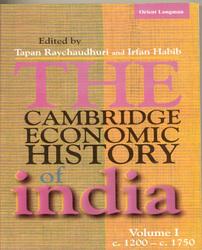 The Cambridge Economic History Of India