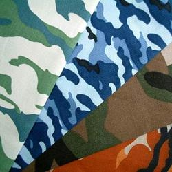 army fabric in cotton/