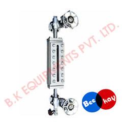 transparent level gauges