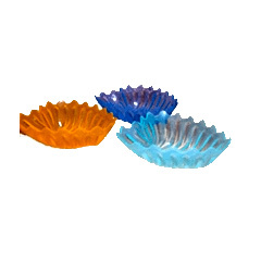 Plastic Heart Shape Bowls
