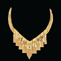 Gold Diamond Necklace (02)