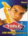 Topaz Twin Disposable Razor