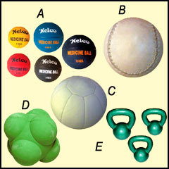 Medicine Balls , Kettle Bells & Reaction Balls
