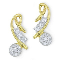 Diamond Earring Designs