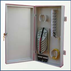 Wall Mountable Fiber Distribution Management Cabinets