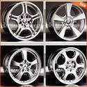 Hyper Silver Alloy Wheels