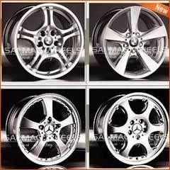 Hyper Silver Alloy Wheels