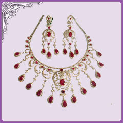 Jewellery Set (Meenakari Work )