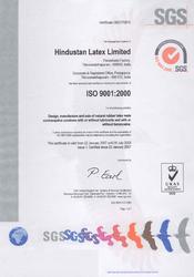 Peroorkada Factory ISO 9001-2000 Certificate