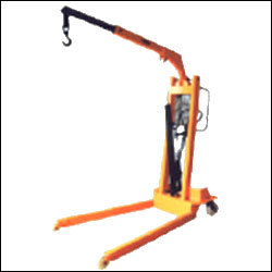 Hydraulic Floor Crane( Manual & Semielectric Type)