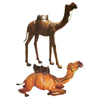 Stuffed Leather Camel