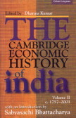 The Cambridge Economic History Of India