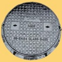 Circular Manhole Cover And Frame