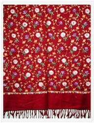 Viscose Embroidered Shawls