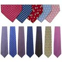 Printed Silk Neckties