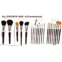Synthetic Hair Cosmetic Brushes