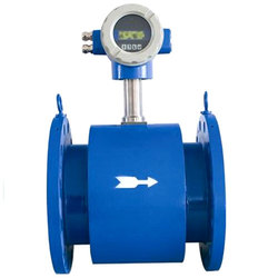 Electromagnetic Pipe Flow Meter