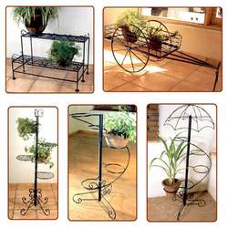 Wrought Iron Garden Stand
