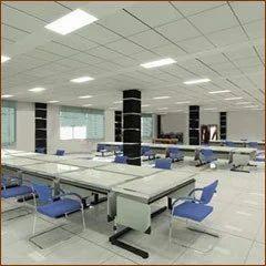 Mineral Fiber Acoustic Ceiling Tiles Non Woven Flat