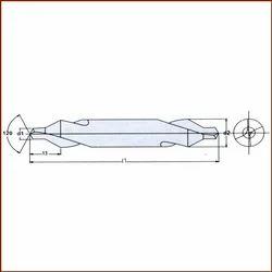 Solid Carbide Centre Drill Bits