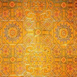 Mustard Brocade Fabric