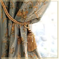 Embroided Drapes