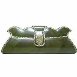 Leather Clutch Lace Purses
