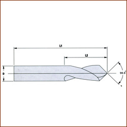 Solid Carbide NC Center Drill