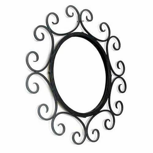 metal wall mirror frame - Metal Mirror Frame