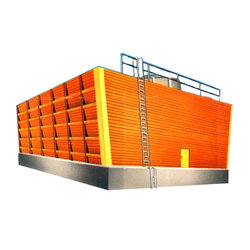 Induced Draft Wooden Cooling Tower, Capacity: 5000-10000 Liter, 110-440 V