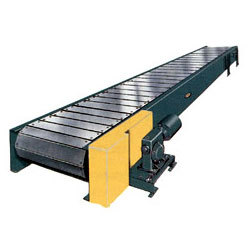 Slat Conveyor And Screw Conveyor