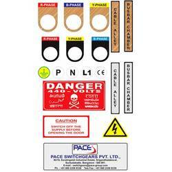 Electrical Panel Board Sticker