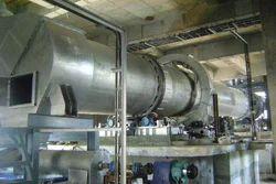 AVM Semi-Automatic Indirect Rotary Dryers, Capacity: Custom Build