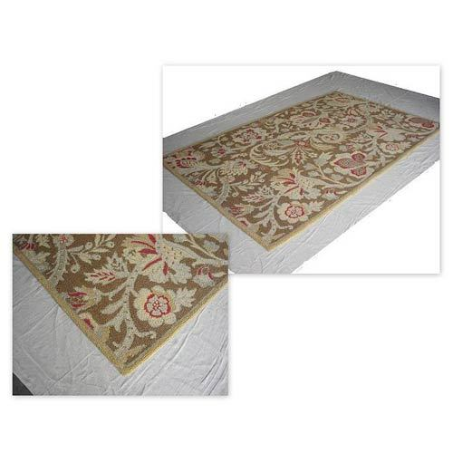 Cotton & Woolen Hooked Rugs
