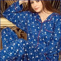 Ladies Printed Pyjama Suits