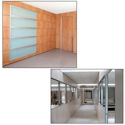 Turnkey interior solution wall partitions manufacturer from nashik - Readymade wall partitions ...