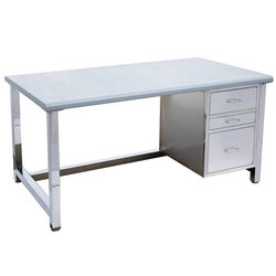 Stainless Steel Work Table Executive Office Chair